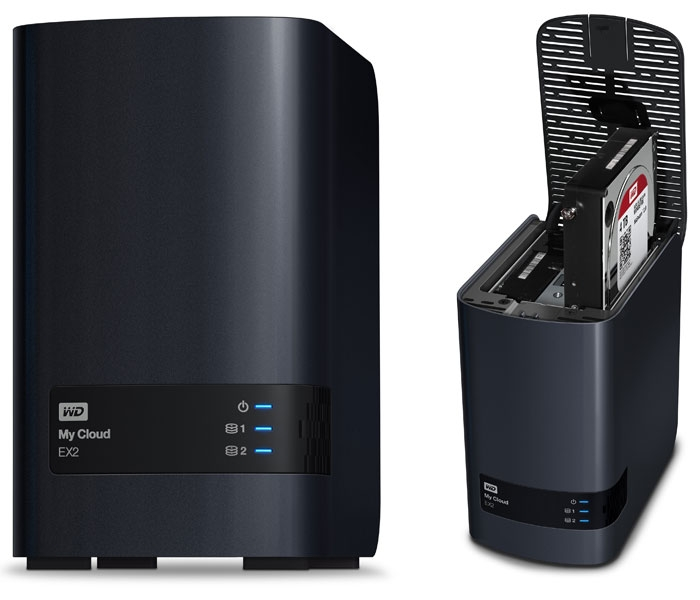 P/I: WD my Cloud EX2, domaci cloud